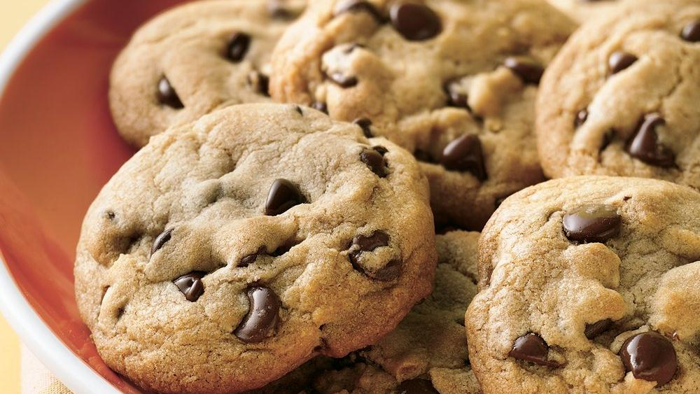 Soft and Chewy Chocolate Chip Cookies recipe from Pillsbury.com