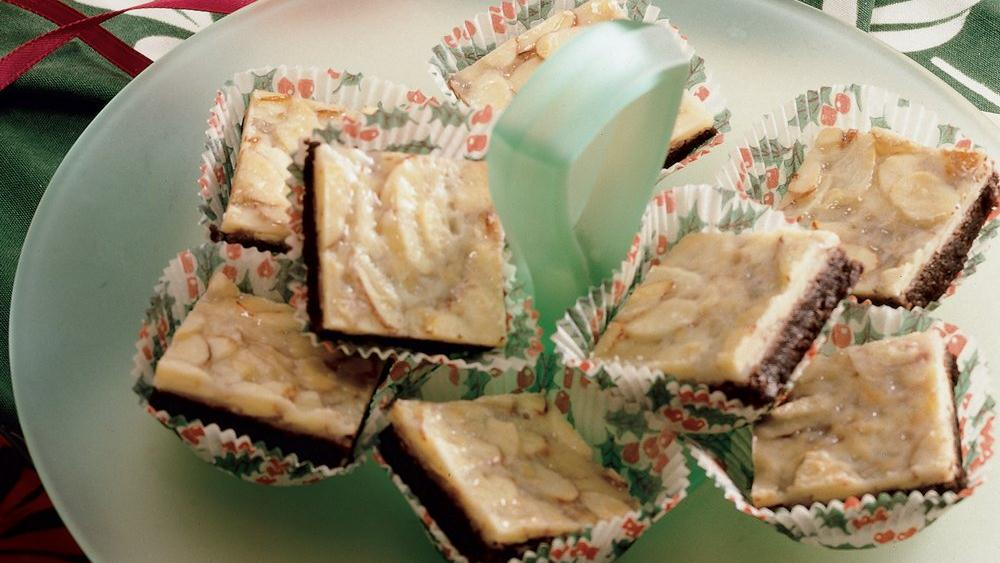 Almond Brownie Thins