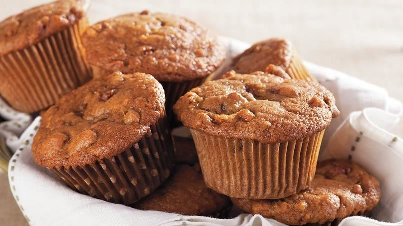 Candied Walnut Date Muffins