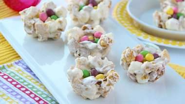 No-Bake Chex™ Popped Nests