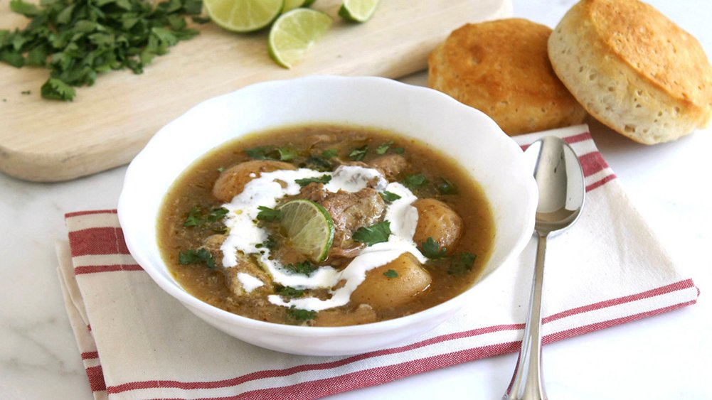 Slow-Cooker Chili Verde recipe from Pillsbury.com