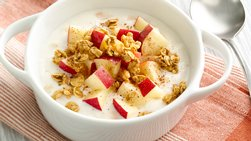 Apple-Cinnamon Crunch Yogurt Bowl