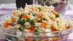 Peruvian Garlic Rice with Corn