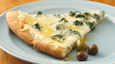 Florentine Pizza with Seasoned Oil