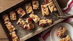 Festive Fruitcake Bars
