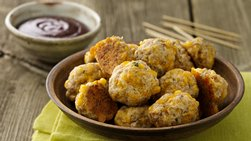 Turkey Sausage Cheese Balls