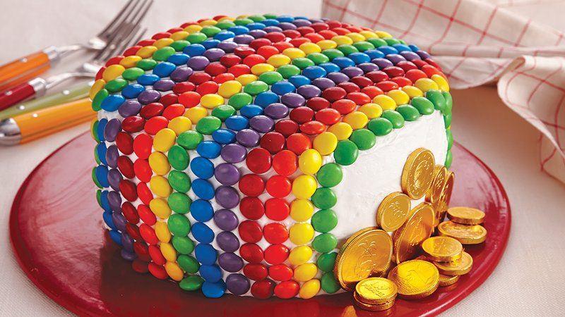 Rainbow Candy Cake Recipe From Betty Crocker