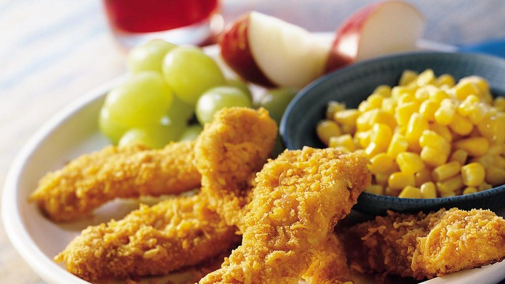Cheesy Chicken Strips