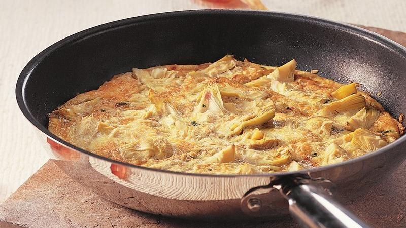 Gluten-Free Artichoke Basil Frittata