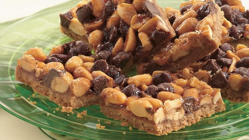 Peanut Brittle Bars