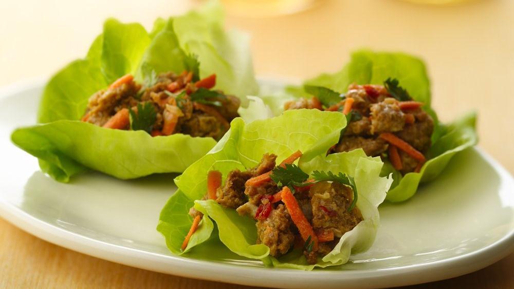 Spicy Lettuce Wraps