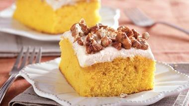 Pumpkin Snack Cake
