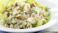 Skinny Red Potato and Tuna Salad