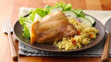 Slow-Cooker 5-Ingredient Honey-Mustard Chicken