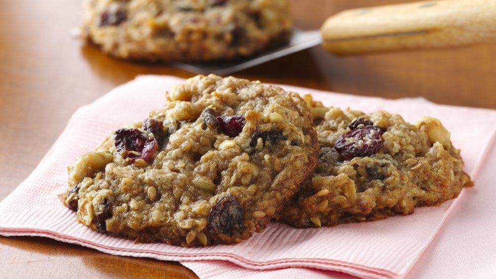On the Go Breakfast Cookies