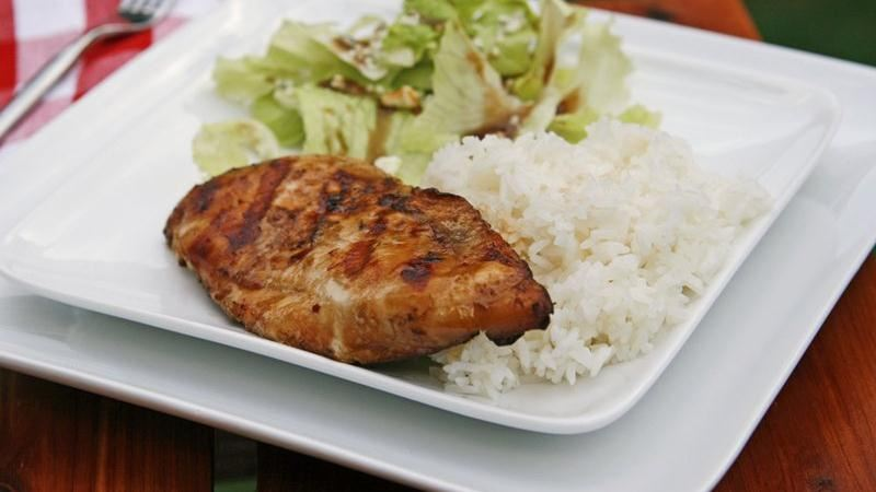 Grilled Bourbon Chicken