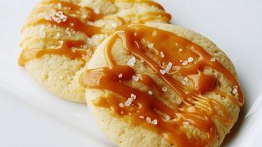 Salted Caramel Sugar Cookies