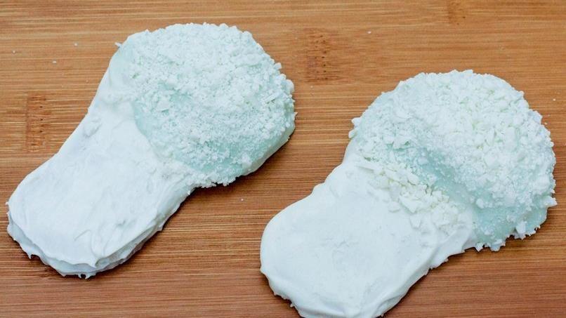White Chocolate Slipper Cookies