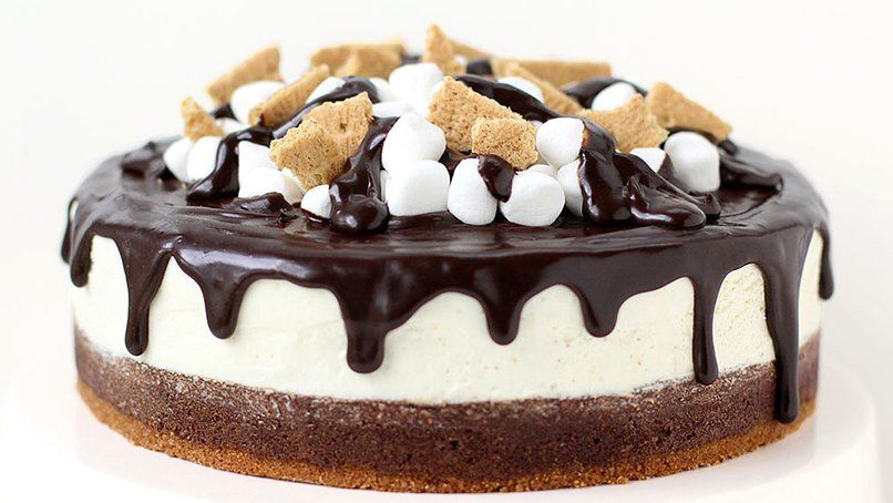Brownie S'mores Cheesecake recipe - from Tablespoon!