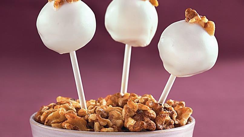 Maple Walnut Cake Pops