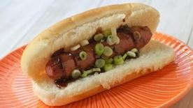 Hoisin Barbecue Hot Dogs