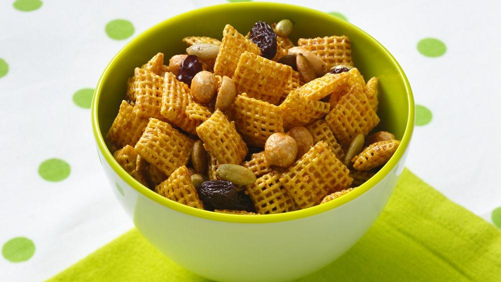 Sweet and Spicy Honey Nut Chex® Mix