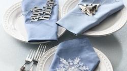 Embellished Napkins