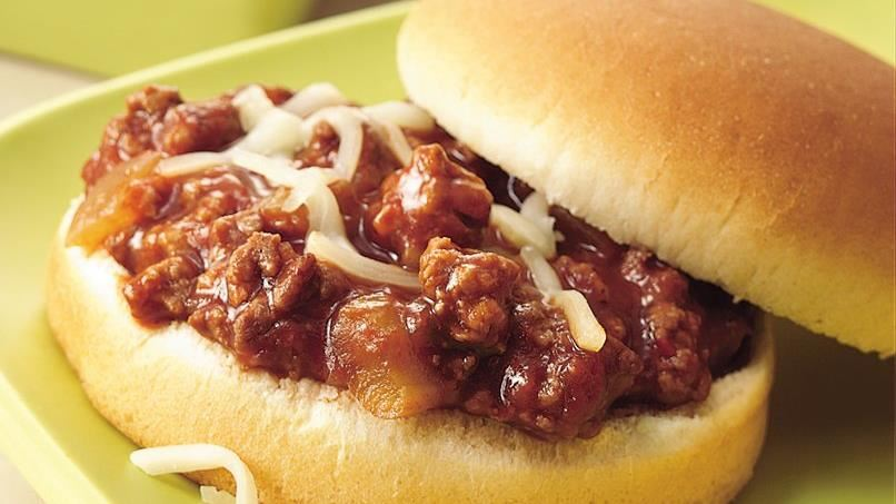 Slow-Cooker Sloppy Joes (Crowd Size)