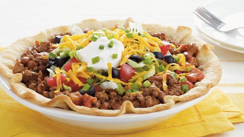 Taco Salad Pie