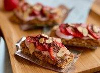 Strawberry Chocolate Granola Bars