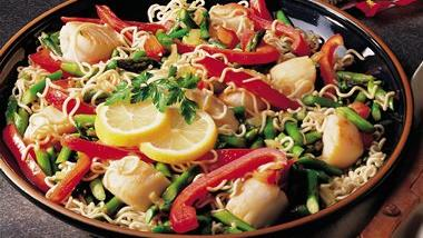 Scallop Stir-Fry