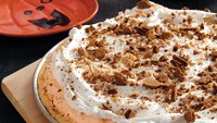 Pumpkin Ice Cream Cookie Pizza