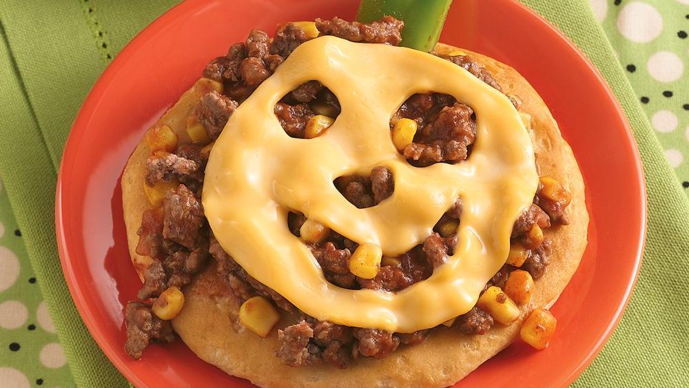 Corny Sloppy Joe Pizzas