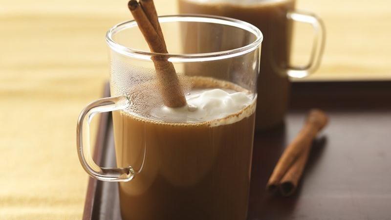 Spiced-Up Café Latte