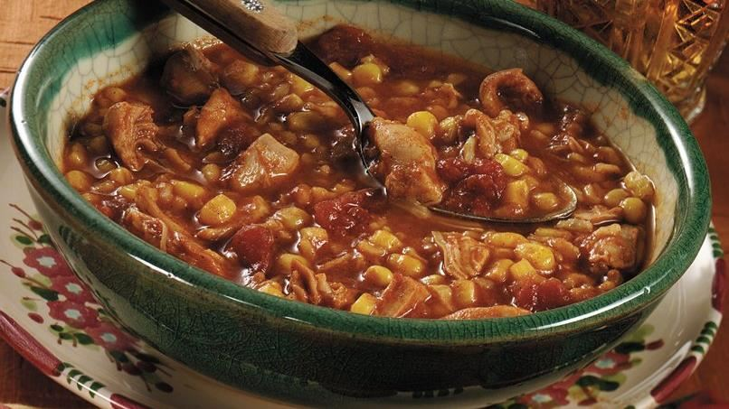 Mexicali Chicken and Corn Soup