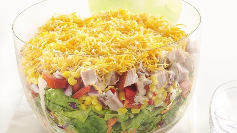 Layered Ham Salad