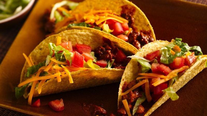 Easy Mole Tacos