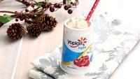 Cherry Eggnog Yogurt Cocktail