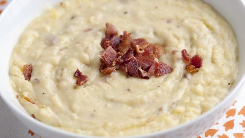 Cheesy Beer Mashed Potatoes