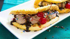 Choco Waffle Taco