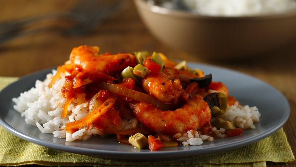 Spicy Shrimp with Sauce