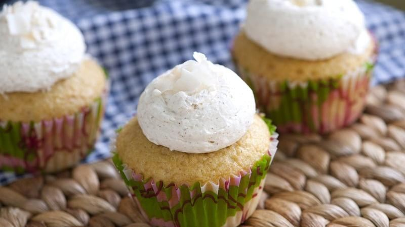 Green Tea and Five-Spice Cupcakes