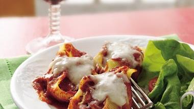 Sausage-Stuffed Pasta Shells