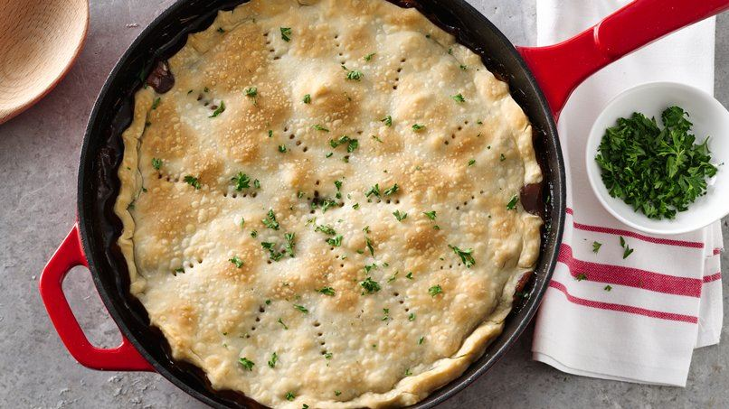 Beef Stew Pot Pie