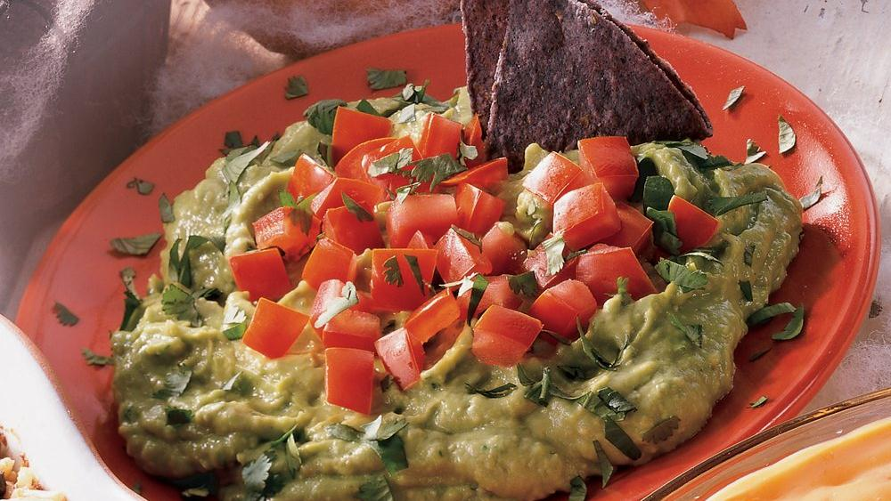 Guacamole with Blue Chips
