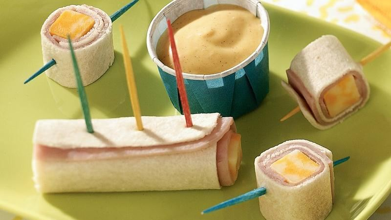 Roll-Up Ham Cheese Bites