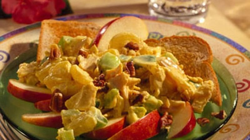 Curried Tuna Salad With Toasted Pecans