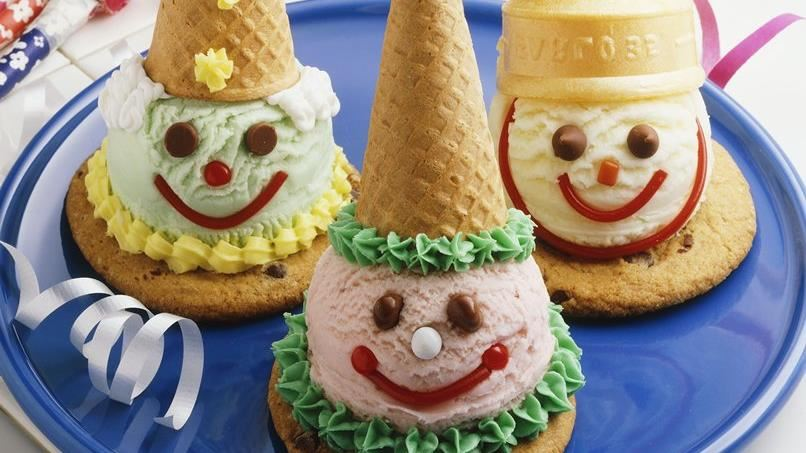 Cookie and Cone Clowns