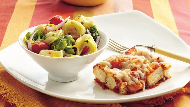 Cheesy Tortellini Salad