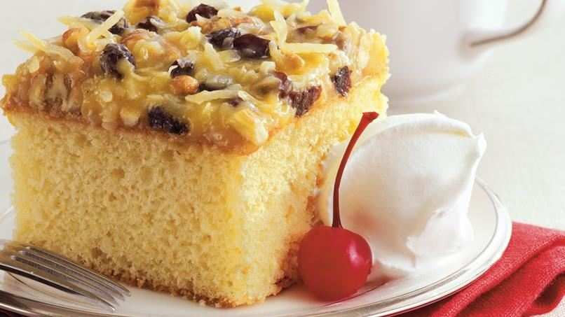 Easy Lane Cake